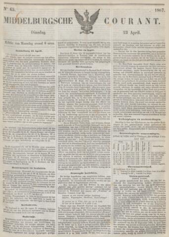 Middelburgsche Courant 1867-04-23