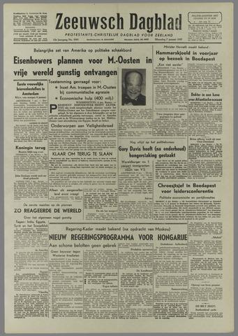 Zeeuwsch Dagblad 1957-01-07