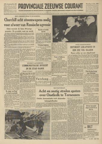 Provinciale Zeeuwse Courant 1954-10-11