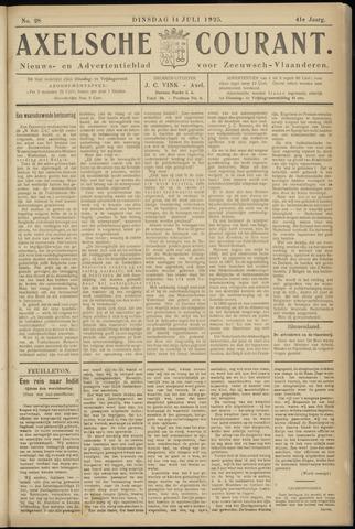 Axelsche Courant 1925-07-14