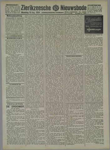 Zierikzeesche Nieuwsbode 1934-08-13