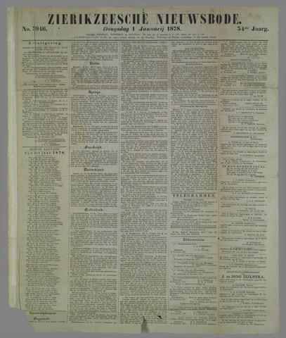 Zierikzeesche Nieuwsbode 1878