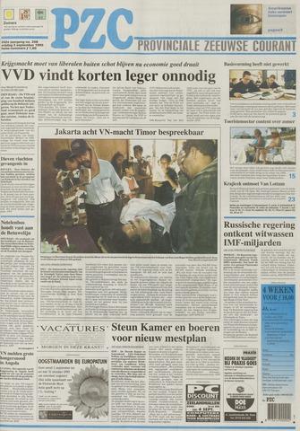 Provinciale Zeeuwse Courant 1999-09-03