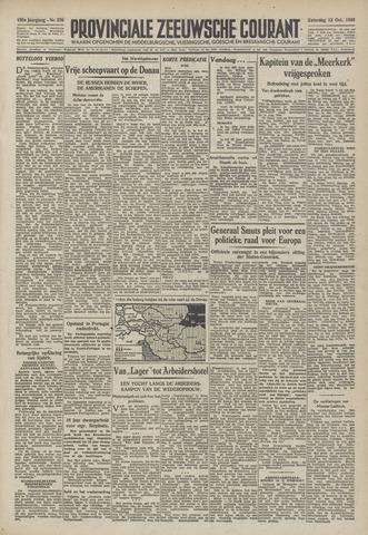 Provinciale Zeeuwse Courant 1946-10-12