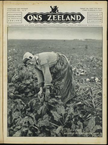 Ons Zeeland / Zeeuwsche editie 1934-10-19