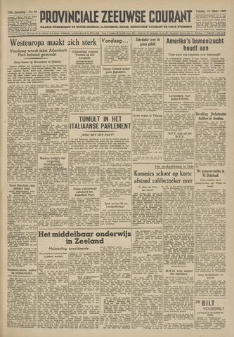 Provinciale Zeeuwse Courant 1949-03-18