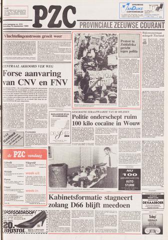 Provinciale Zeeuwse Courant 1989-09-16