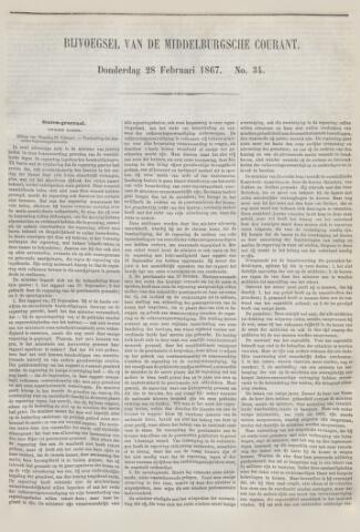 Middelburgsche Courant 1867-02-28