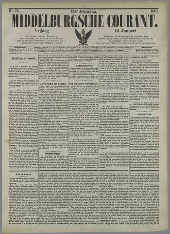 Middelburgsche Courant 1891-01-16