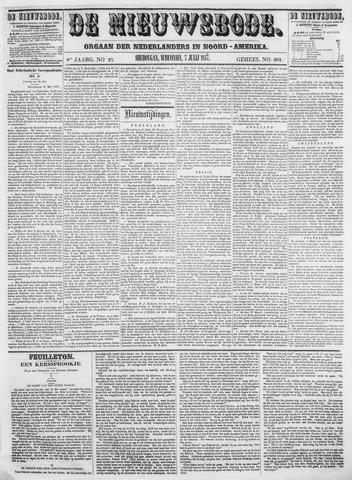Sheboygan Nieuwsbode 1857-07-07