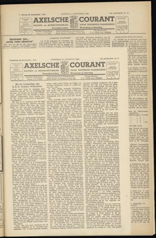 Axelsche Courant 1949-08-31