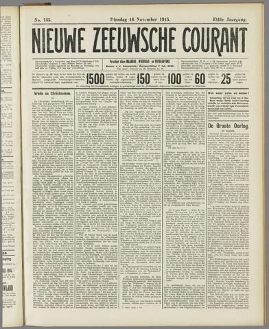 Nieuwe Zeeuwsche Courant 1915-11-16