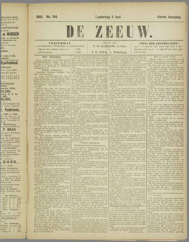 De Zeeuw. Christelijk-historisch nieuwsblad voor Zeeland 1890-06-05
