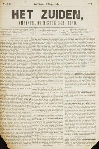 Het Zuiden, Christelijk-historisch blad 1877-09-01