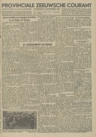 Provinciale Zeeuwse Courant 1943-11-04