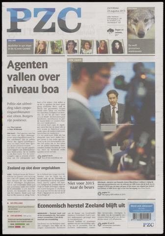 Provinciale Zeeuwse Courant 2013-08-24