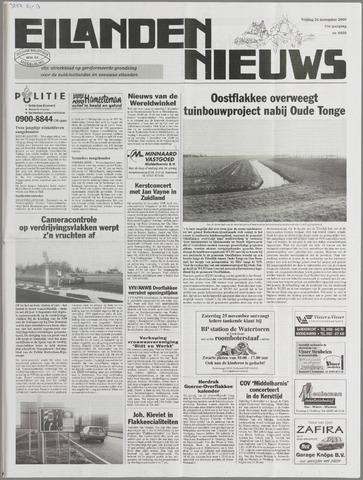 Eilanden-nieuws. Christelijk streekblad op gereformeerde grondslag 2000-11-24
