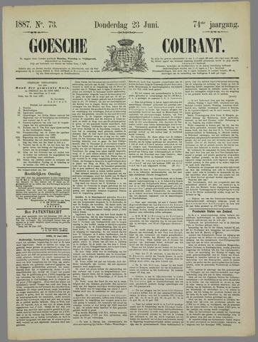 Goessche Courant 1887-06-23