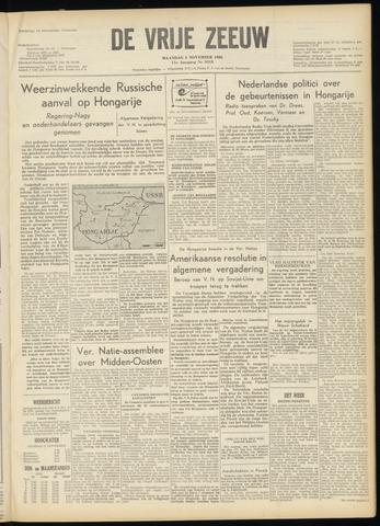 de Vrije Zeeuw 1956-11-05