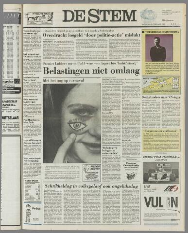 de Stem 1992-02-29