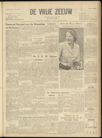 de Vrije Zeeuw 1957-01-30