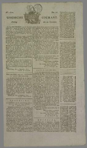 Goessche Courant 1820-09-22