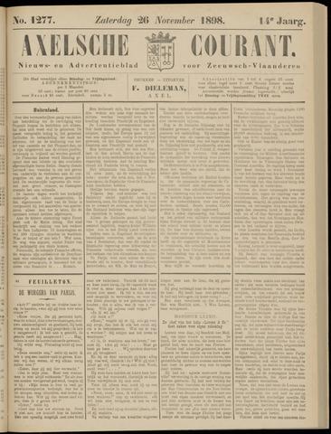 Axelsche Courant 1898-11-26
