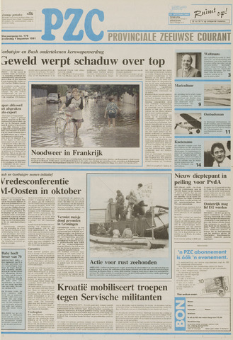 Provinciale Zeeuwse Courant 1991-08-01