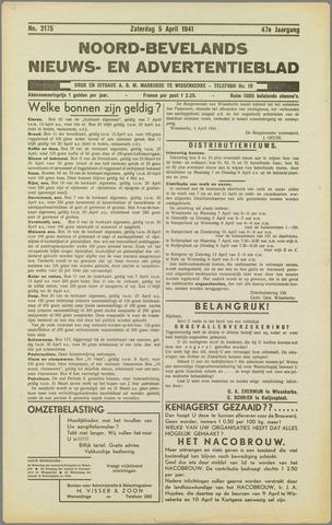 Noord-Bevelands Nieuws- en advertentieblad 1941-04-05