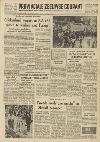 Provinciale Zeeuwse Courant 1958-06-16