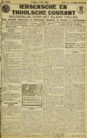 Ierseksche en Thoolsche Courant 1931-05-01