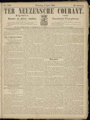 Ter Neuzensche Courant. Algemeen Nieuws- en Advertentieblad voor Zeeuwsch-Vlaanderen / Neuzensche Courant ... (idem) / (Algemeen) nieuws en advertentieblad voor Zeeuwsch-Vlaanderen 1890-04-09