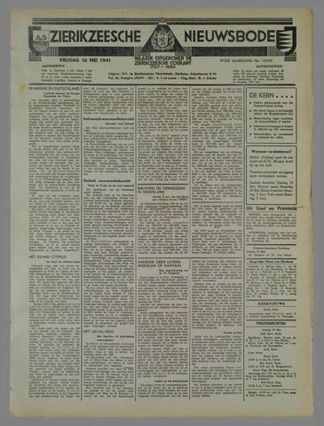 Zierikzeesche Nieuwsbode 1941-05-16