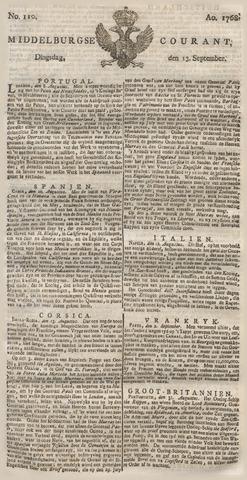 Middelburgsche Courant 1768-09-13
