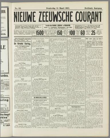 Nieuwe Zeeuwsche Courant 1917-03-15