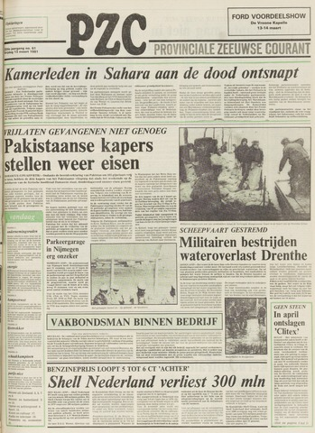 Provinciale Zeeuwse Courant 1981-03-13