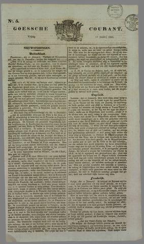 Goessche Courant 1834-01-17
