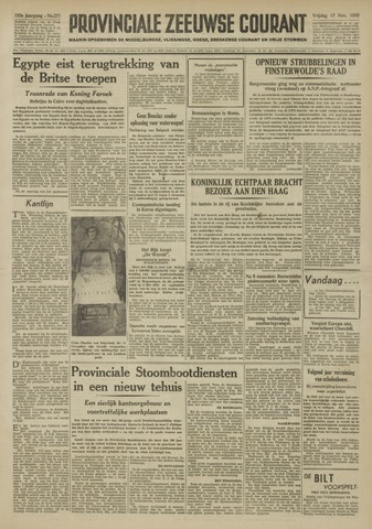 Provinciale Zeeuwse Courant 1950-11-17