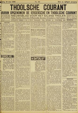 Ierseksche en Thoolsche Courant 1936-06-12