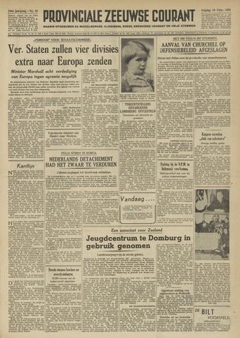 Provinciale Zeeuwse Courant 1951-02-16