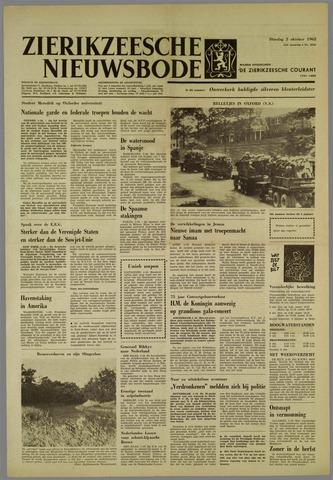 Zierikzeesche Nieuwsbode 1962-10-02