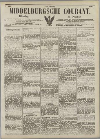 Middelburgsche Courant 1902-10-14