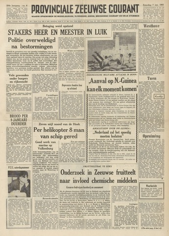 Provinciale Zeeuwse Courant 1961-01-07