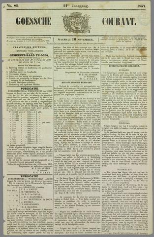 Goessche Courant 1857-11-16