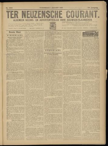 Ter Neuzensche Courant. Algemeen Nieuws- en Advertentieblad voor Zeeuwsch-Vlaanderen / Neuzensche Courant ... (idem) / (Algemeen) nieuws en advertentieblad voor Zeeuwsch-Vlaanderen 1933-03-01