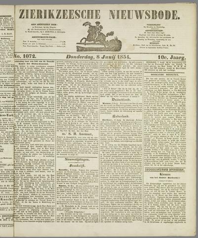 Zierikzeesche Nieuwsbode 1854-06-08