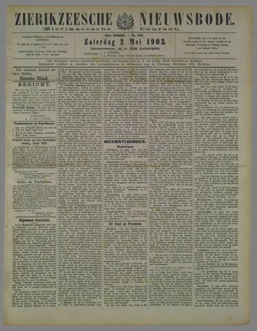 Zierikzeesche Nieuwsbode 1903-05-02