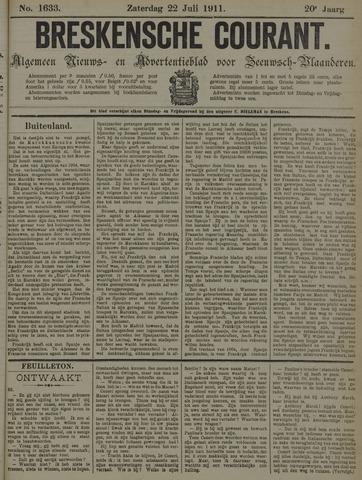 Breskensche Courant 1911-07-22