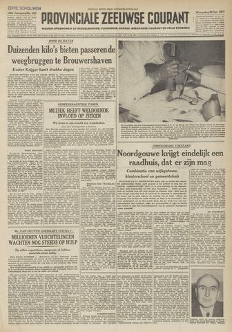 Provinciale Zeeuwse Courant 1952-10-29