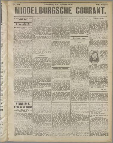 Middelburgsche Courant 1921-10-22